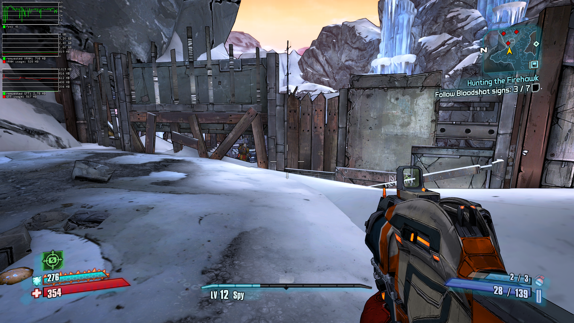 84570 – Borderlands 2/Pre-Sequel: Constant frame rate drops while