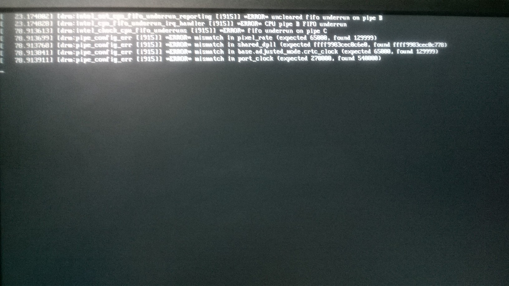 105929 – unable to extend Display port (DP) display using DP